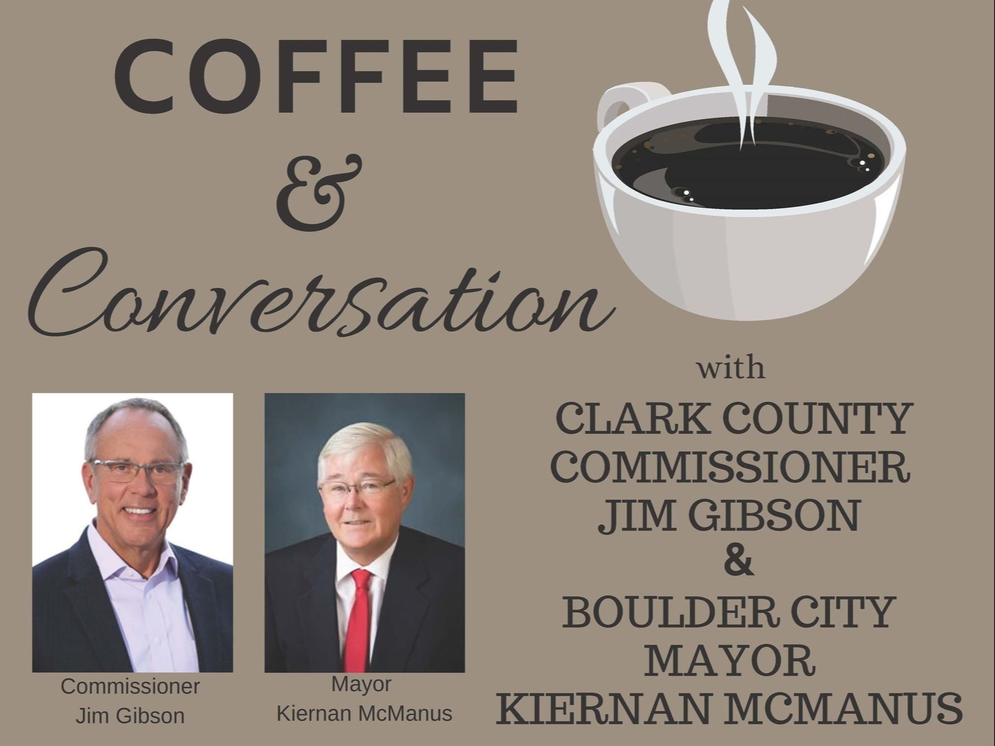 Coffee with Commissioner Gibson  Mayor McManus.FINAL
