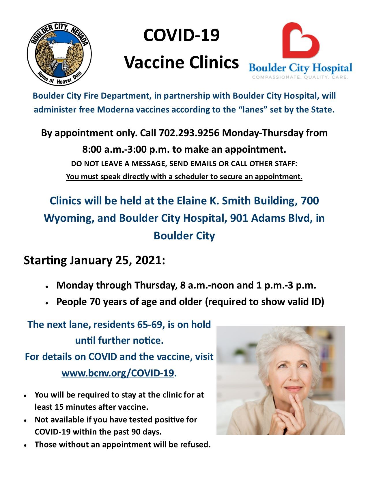 Vaccination Clinic Flyer - Lane 1 v2